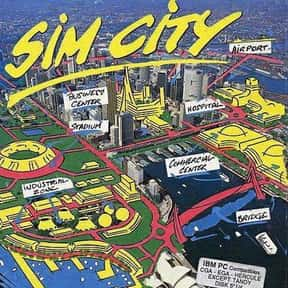 SimCity is listed (or ranked) 8 on the list The Best Games That Never End
