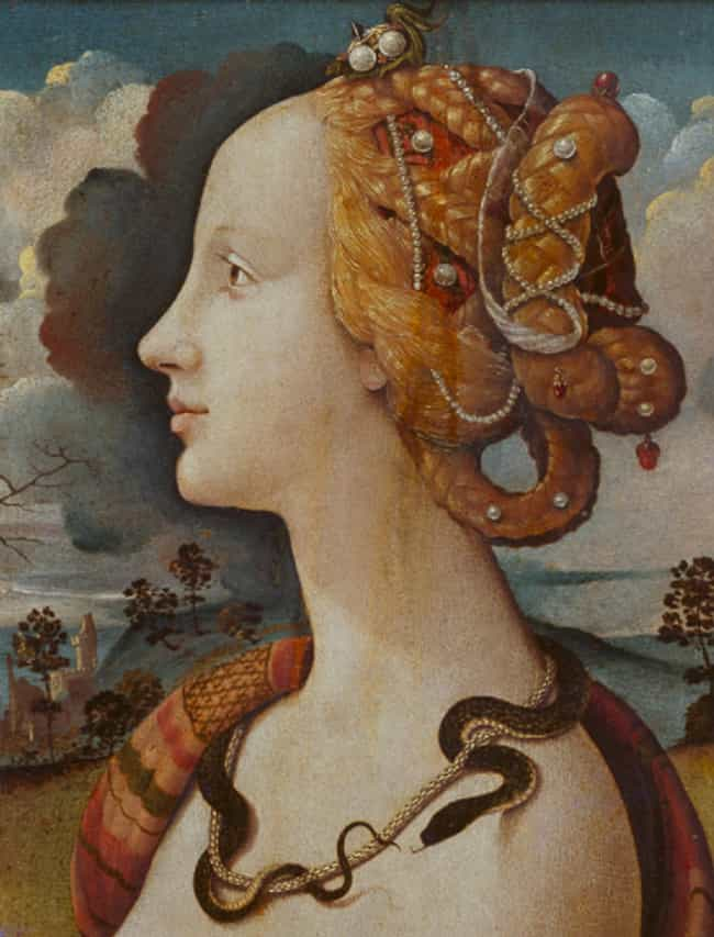 Simonetta Vespucci is listed (or ranked) 2 on the list Historical Figures Who Were Considered Hot In Their Times, Ranked By Modern Beauty Standards