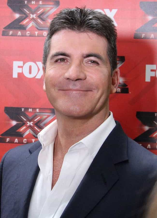 Simon Cowell is listed (or ranked) 3 on the list Weird Celebrity Facts That Are 100% True