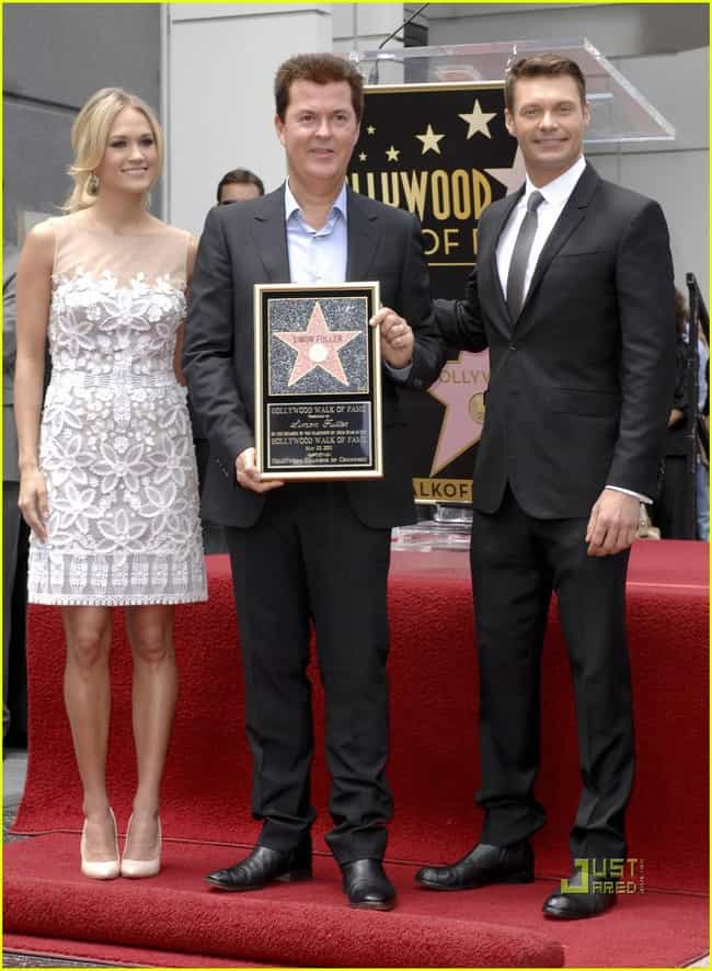 Simon Fuller is listed (or ranked) 8 on the list Famous Friends of Carrie Underwood