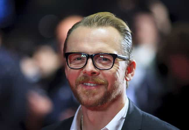 Simon Pegg is listed (or ranked) 4 on the list Famous People who Majored in Drama