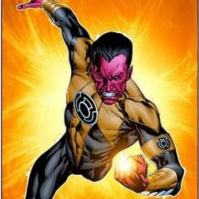 Sinestro is listed (or ranked) 1 on the list The Best Green Lantern Villains Ever