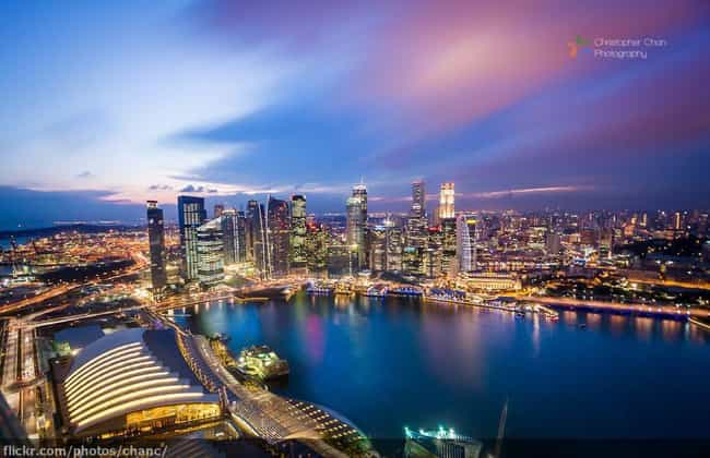 Singapore is listed (or ranked) 5 on the list The Most Beautiful Countries in Asia