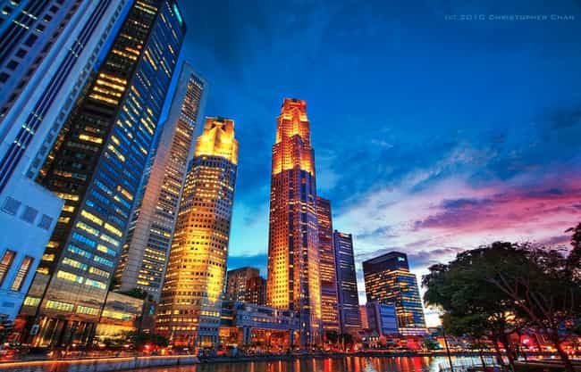 Singapore is listed (or ranked) 2 on the list The Most Beautiful Cities in Asia