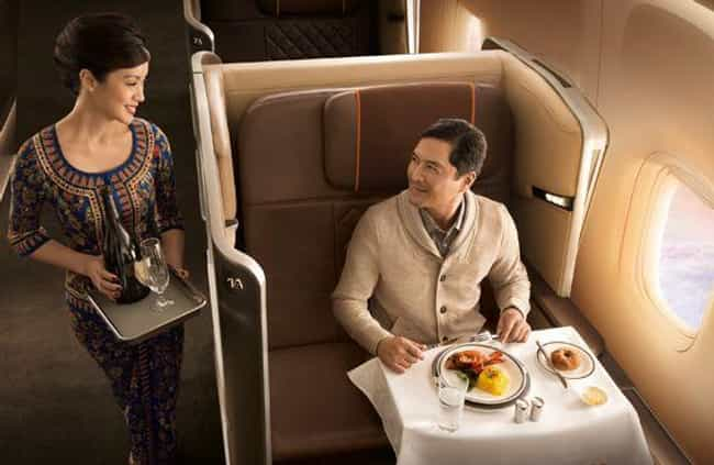 Singapore Airlines is listed (or ranked) 4 on the list What First Class Looks Like on Different Airlines