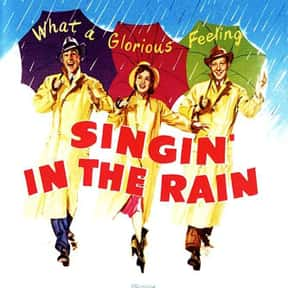Singin' in the Rain is listed (or ranked) 4 on the list Musical Movies With the Best Songs