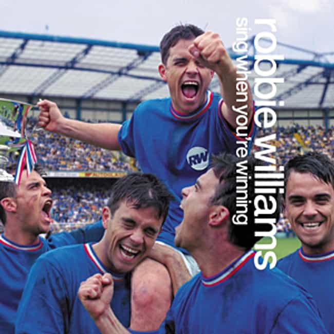 Sing When You're Winning is listed (or ranked) 2 on the list The Best Robbie Williams Albums of All-Time