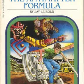 The Antimatter Formula is listed (or ranked) 8 on the list The Best Choose Your Own Adventure Books