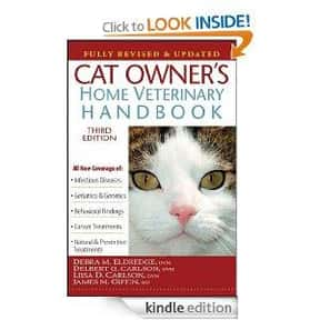 Cat owner's home veterinary ha is listed (or ranked) 24 on the list The Best Books About Cat Care
