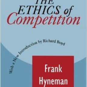 ethics of competition is listed (or ranked) 14 on the list The Best Milton Friedman Books