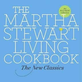 The Martha Stewart Living Cook is listed (or ranked) 24 on the list The Most Must-Have Cookbooks
