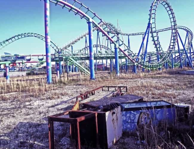 Six Flags New Orleans is listed (or ranked) 2 on the list Allegedly Haunted Amusement Parks And Attractions Anyone Can Visit Today