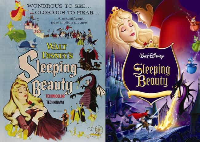 Sleeping Beauty is listed (or ranked) 4 on the list 20 Iconic Original Disney Posters VS. Today's Re-Release Covers