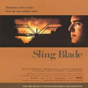 Sling Blade is listed (or ranked) 8 on the list The Best Robert Duvall Movies