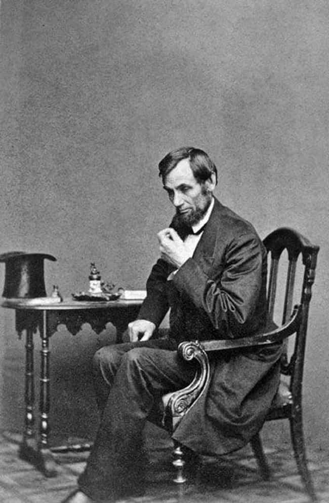 """Smallpox is listed (or ranked) 3 on the list Everything People Have """"Diagnosed"""" Abe Lincoln With"""