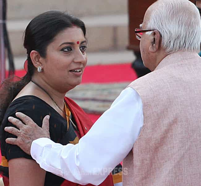 Smriti Irani is listed (or ranked) 4 on the list Famous Female Social Workers