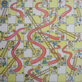 Chutes and Ladders is listed (or ranked) 7 on the list The Best Games for Kids