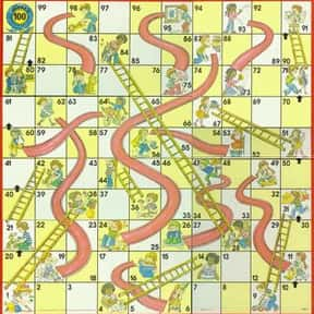 Chutes & Ladders is listed (or ranked) 4 on the list The Best Board Games For Kids