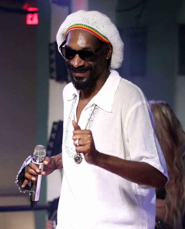 Snoop Dogg is listed (or ranked) 11 on the list 20 Celebrities Who Have Killed People