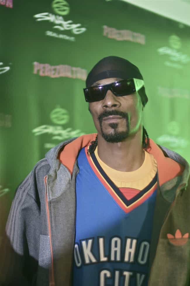 Snoop Dogg is listed (or ranked) 4 on the list Rappers Who Have Their Own Lines of Shoes