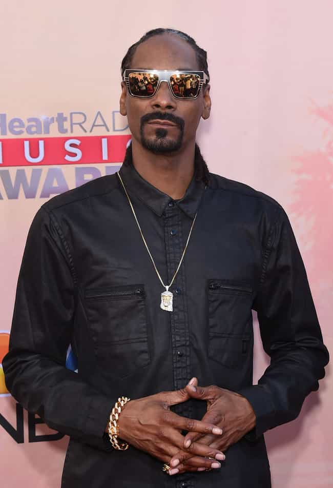 Snoop Dogg is listed (or ranked) 1 on the list Rappers Who Have Cornrows