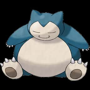 Snorlax is listed (or ranked) 1 on the list The Greatest Fat Anime Characters of All Time