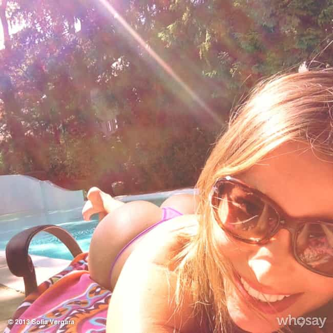 Sofía Vergara is listed (or ranked) 1 on the list The 23 Hottest Female Celebrity Selfies