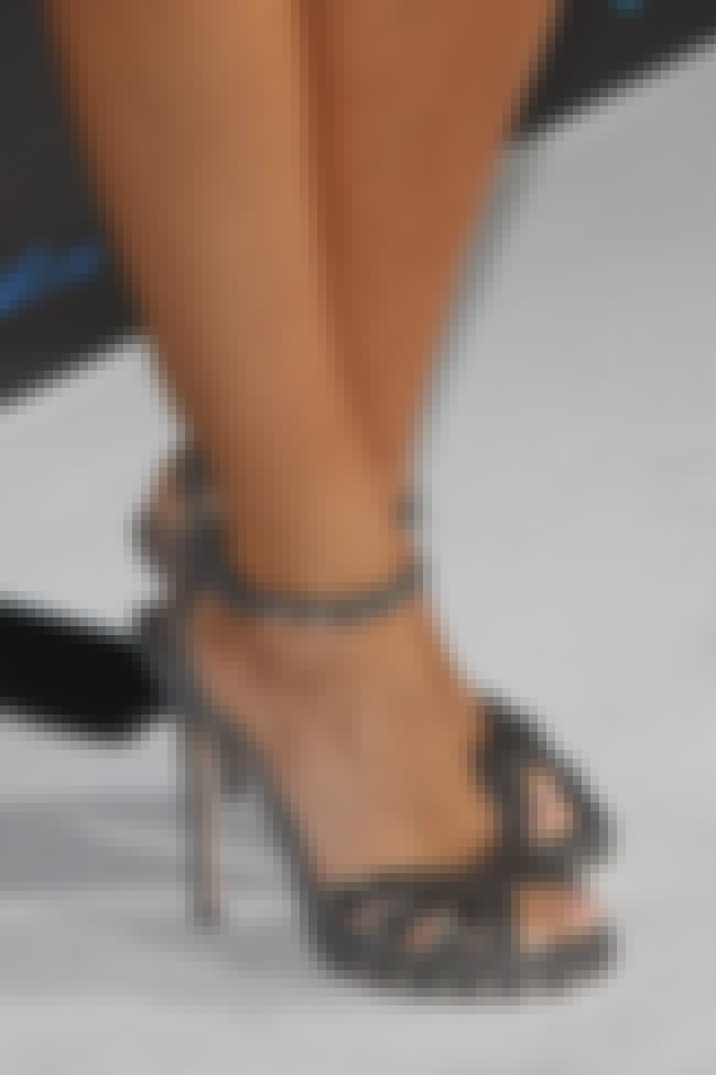 Sofía Vergara is listed (or ranked) 3 on the list The Celebrities with the Sexiest Feet