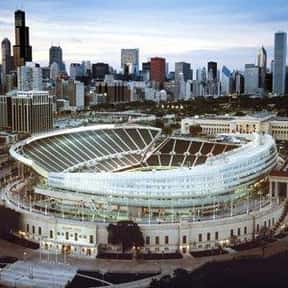 Soldier Field is listed (or ranked) 24 on the list The Best NFL Stadiums