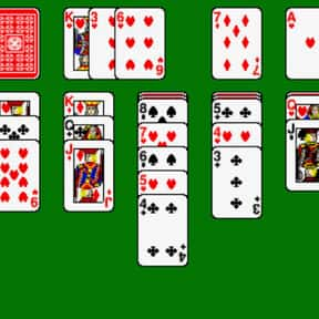 Solitaire is listed (or ranked) 17 on the list The Most Popular & Fun Card Games