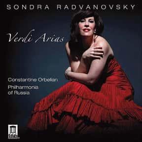Sondra Radvanovsky is listed (or ranked) 7 on the list The Greatest Living Opera Singers