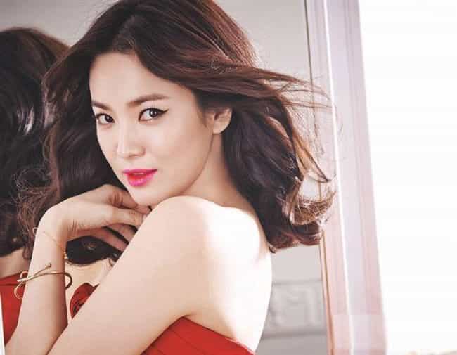 Song Hye Kyo Is Listed Or Ranked 1 On The List Most