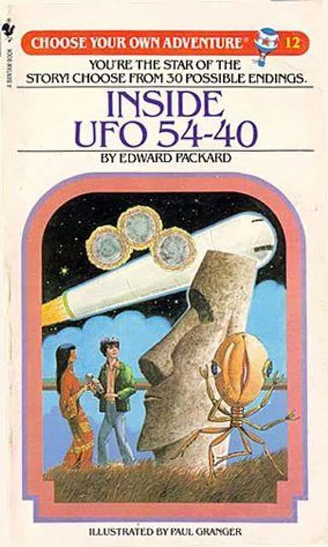 Inside UFO 54-40 is listed (or ranked) 7 on the list The Scariest 'Choose Your Own Adventure Books' That Terrified You As A Child