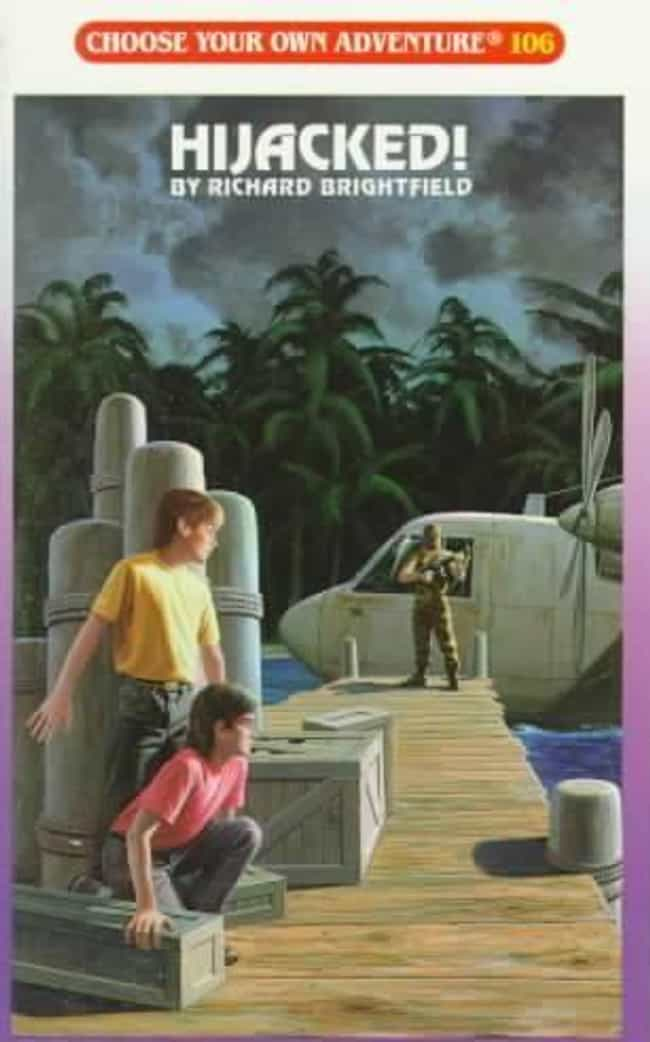 HIJACKED! is listed (or ranked) 4 on the list The Scariest 'Choose Your Own Adventure Books' That Terrified You As A Child