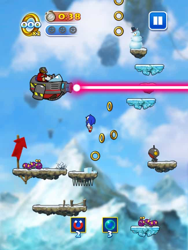 Sonic Jump is listed (or ranked) 4 on the list The 22 Best Mobile Jumping Games