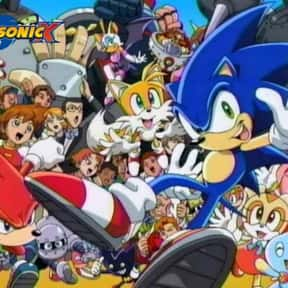 Sonic X is listed (or ranked) 14 on the list The Very Best Anime for Kids