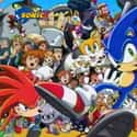 Sonic X is listed (or ranked) 9 on the list The Very Best Anime for Kids