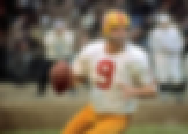 Sonny Jurgensen is listed (or ranked) 4 on the list The Greatest Quarterbacks of the 1960's