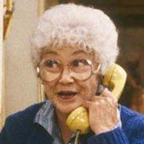 Sophia Petrillo is listed (or ranked) 11 on the list The Funniest TV Characters of All Time