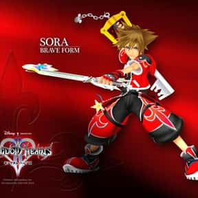 Sora is listed (or ranked) 3 on the list The Best To Worst Kingdom Hearts Characters