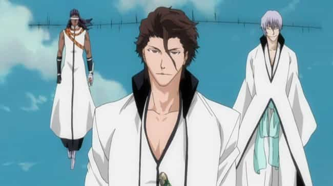 Sōsuke Aizen is listed (or ranked) 2 on the list The 14 Most Shocking Anime Betrayals
