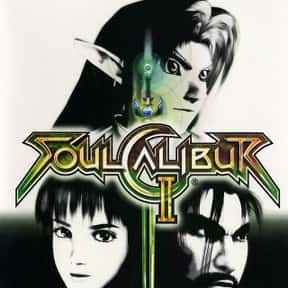 Soulcalibur II is listed (or ranked) 18 on the list The Best Xbox 360 Fighting Games of All Time