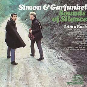 """Sounds of Silence"" - Simon &  is listed (or ranked) 14 on the list The 50 Greatest Albums Released Between 1960 - 1969"