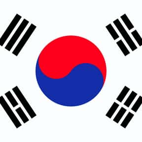 South Korea is listed (or ranked) 7 on the list The Prettiest Flags in the World