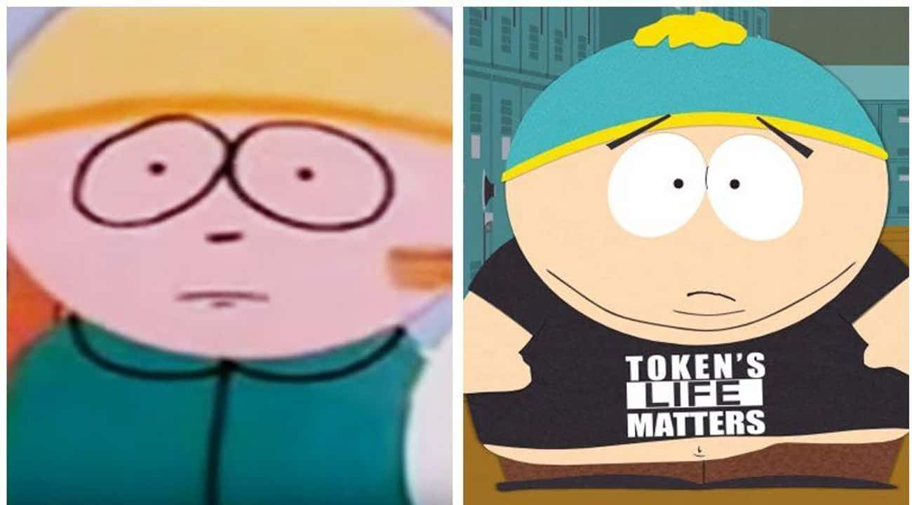 South Park: 1992 & 2017 is listed (or ranked) 3 on the list 20 Iconic Cartoon Characters And Their Evolution Over Time