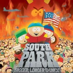 South Park: Bigger, Longer & U is listed (or ranked) 20 on the list The Best Movies of 1999
