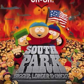 South Park: Bigger, Longer & U is listed (or ranked) 22 on the list The Best R-Rated Comedies