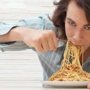 Spaghetti is listed (or ranked) 18 on the list The Worst Foods to Eat on a Date