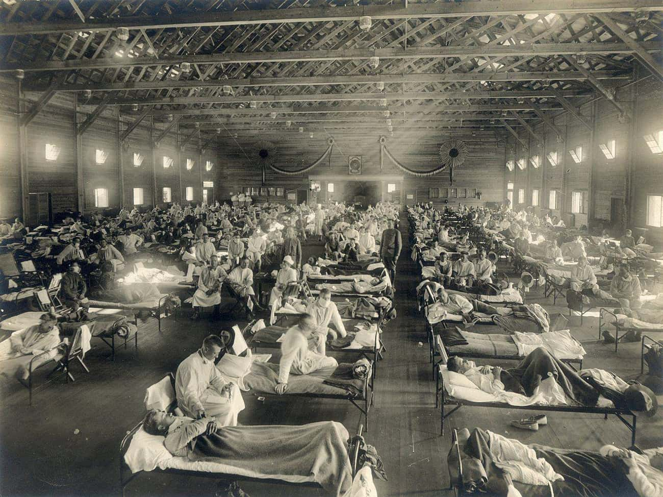 More People Died From The Spanish Flu Than In WWI
