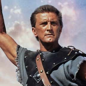Spartacus is listed (or ranked) 1 on the list The Best Kirk Douglas Movies